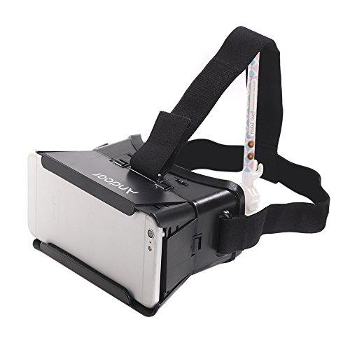 Andoer CST-01 3D VR Virtual Reality DIYビデオムービーのゲームメガネ iPhone Samsung 4-6