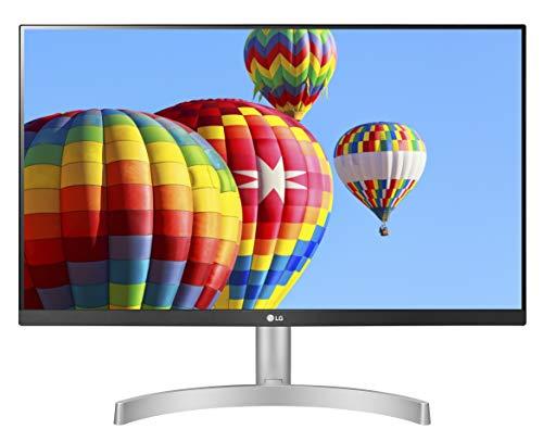 LG 24ML600S Monitor 24' FULL HD LED IPS, 1920x1080, 1ms MBR, AMD FreeSync 75Hz, Audio Stereo 10W,...