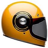 Bell Bullitt Full-Face Motorcycle Helmet (Bolt Gloss Yellow/Black, X-Large)