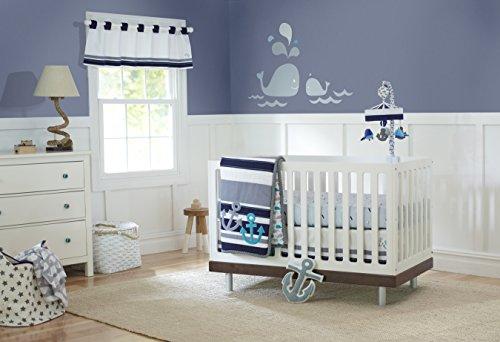 Just Born Crib Bedding Set, High Seas