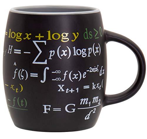 Decodyne Math Mug, 15 oz. Coffee Mug Featuring Famous...