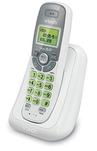 VTech CS6114 DECT 6.0 Cordless Phone with Caller...