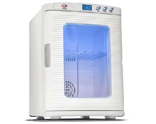life_mart ポータブル冷温庫 25L ホワイト 大容量 保冷・保温に適した