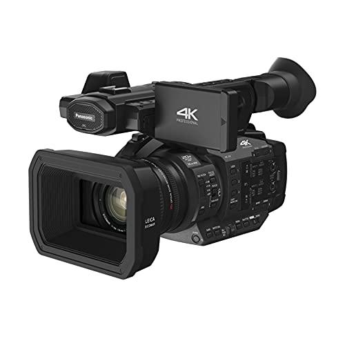 Panasonic X1 | Caméscope Semi-Pro 4K (Qualité vidéo 4K 50p, C4K 24p, Capteur type 1 pouce, Zoom optique LEICA 20x, Grand Angle 24mm, Ecran orient., Stabilisé, Viseur OLED) Noir – Version Française