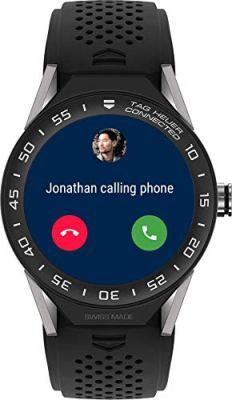 TAG Heuer Connected Modular 45 Men's Watch SBF8A8001.11FT6076. Top 21 Smartwatch Brands
