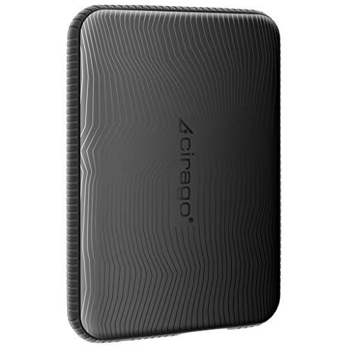Cirago 250Go Disque Dur Externe Portable Disque Dur résistant aux Chocs USB 3.0 pour PC, Mac,...