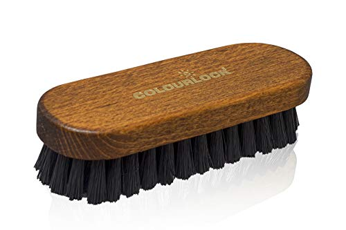 COLOURLOCK Leather & Textile Cleaning Brush for car interiors, Alcantara car Seats and Leather Furniture Upholstery by