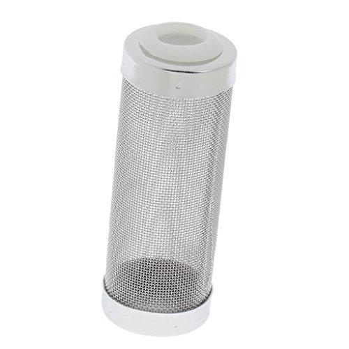 【ノーブランド品】水槽用品 濾過装置 ステンレス製 網ストレーナー メッシュ ストレーナー