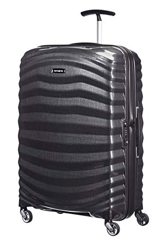 Samsonite Lite-Shock - Spinner M Koffer, 69 cm, 73 L, Schwarz (Black)