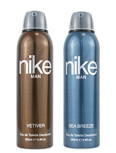 Nike Vetiver + Sea Breeze Deodorant For Man Pack Of 2 (200ml Each)