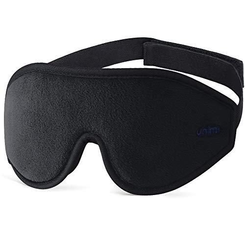 Masque de Sommeil pour Voyage et Home, Unimi 3D Masque de Nuit, Masque de...