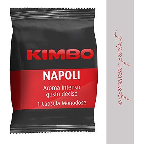 100 Capsule Caffè Kimbo miscela NAPOLI compatibili espresso point