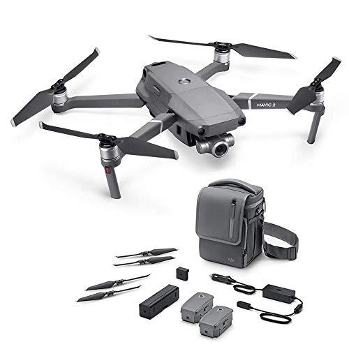 DJI Mavic 2 Zoom con Fly More Kit con Drone Quadrocopter, Include Drone con Zoom Ottico di 24-48 mm,...