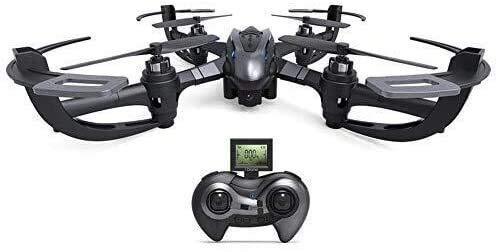 UWY Drone giroscopico a Quattro Assi, Drone a 6 Assi a 4 canali, Versione 3D Flip RTF Drone con modalit Senza Testa di Ritorno a Un Pulsante