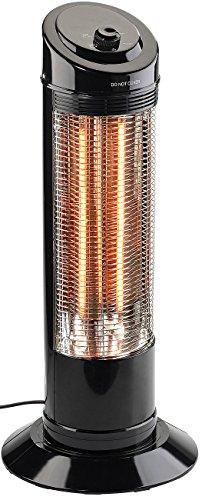 Sichler Haushaltsgeräte Heizstrahler: Infrarot-Heizstrahlersäule mit Oszillation, 600/1.200 Watt (Elektrische Heizung)