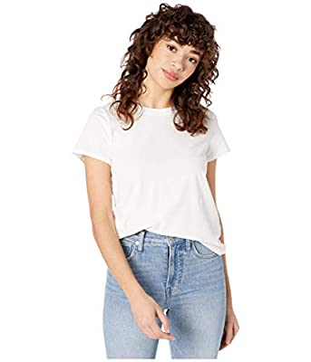 The Madewell Northside Vintage Tee is the perfect go-to tee for everyday wear. The shrunken fit offers a slim profile while the washed cotton is breathable and easy to wear. Crew neckline and short sleeves. Straight hemline. 100% cotton. Machine wash...
