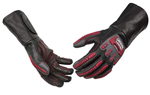 Lincoln-Electric-Roll-Cage-Welding-Rigging-Leather-Gloves-Impact-Resistant-Cut-Resistant-K3109-Multiple-Sizes-Available-S-2XL