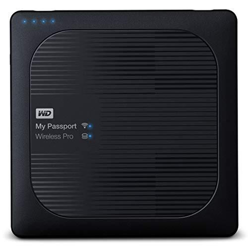 WD 3TB My Passport Wireless Pro, Hard disk Esterno...