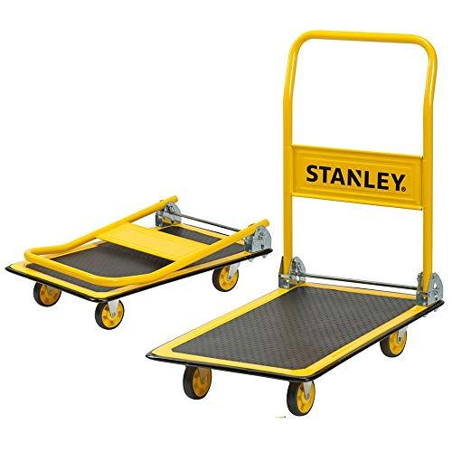 Stanley SXWTD-PC527 150 kg Steel Platform Truck - Yellow