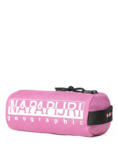 Napapijri Happy Pencil Case 1 Astuccio, 0 cm, Dahlia Pink (Rosa) - N0YI0I