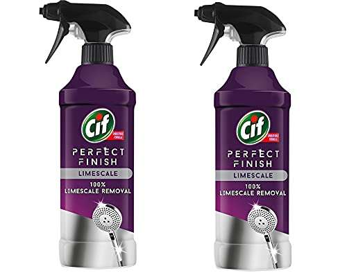 Cif Perfect Finish Limescale Remover 435ml Pack of 2