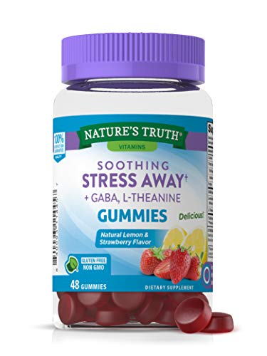 Stress Away Gummies | 48 count | with Gaba and L Theanine |...