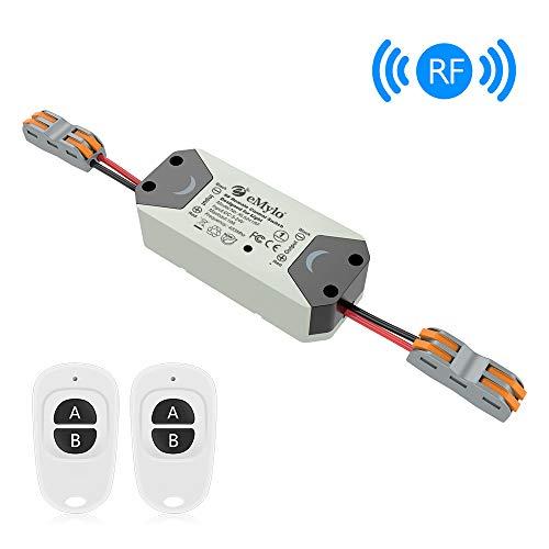 Smart RF Relay Switch eMylo Wireless Remote Control Switch DC 12V...