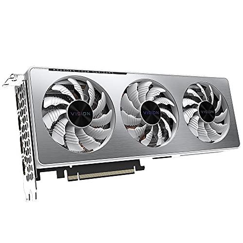 Gigabyte GeForce RTX 3060 Ti Vision OC 8GB V2 LHR - Tarjeta gráfica