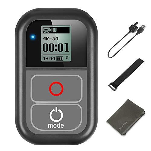 D&F Smart Telecomando 6.5ft Impermeabile Wi-Fi Remote Controller per GoPro Hero 8 Hero 7 Nero Hero 6 5 4 3+ 3,Hero 5 Session Hero 4 Session