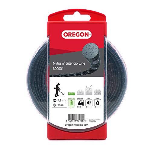 Oregon 800001 Filo per decespugliatore, 1,6 mm, Confezione da 15 m, x