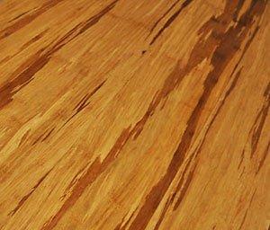 Legno massiccio parquet motivo pezzi in bambù Tiger Line Nut & piume