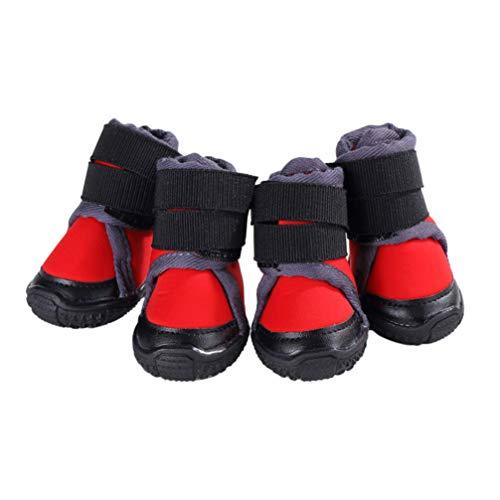 Balacoo 4pcs Botines para Perros Zapatos para Perros Zapatos...