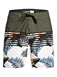 Quiksilver Everyday Lightning 17'-Boardshort pour Homme, Kalamata, FR : M (Taille Fabricant : 32)