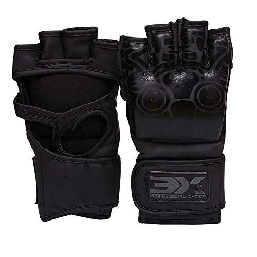 3X Professional Choice Guanti Maya MMA Nascondi Cuoio Formazione Arti Marziali Krav Maga UFC Borsa...