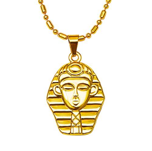 Colgante de Egipto 18k chapado en oro
