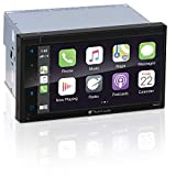 Planet Audio P9900CPA Apple Carplay Android Auto Car Multimedia Player - Double-Din, 6.75 Inch LCD Touchscreen, Bluetooth, MP3-USB-Aux in, Am/FM Car Radio, No CD-DVD