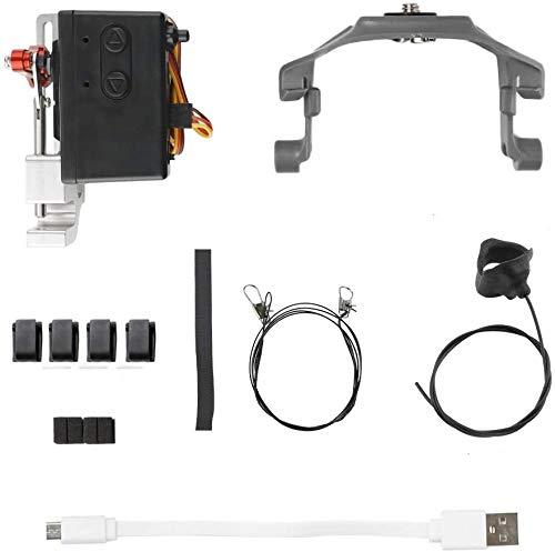 Turtle Story Toys Launcher Clips Linee Nastri Set for DJI Mavic 2 PRO/Zoom Drone Accessori Mavic 2 Nero JXNB