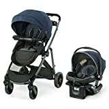 Graco Modes Element LX Travel System   Includes Baby Stroller with Reversible Seat, Extra Storage, Child Tray, One Hand Fold and SnugRide 35 Lite LX Infant Car Seat, Lanier