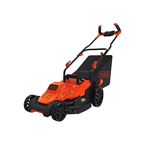 BLACK+DECKER Electric Lawn Mower, 10 -Amp, 15-Inch (BEMW472BH)