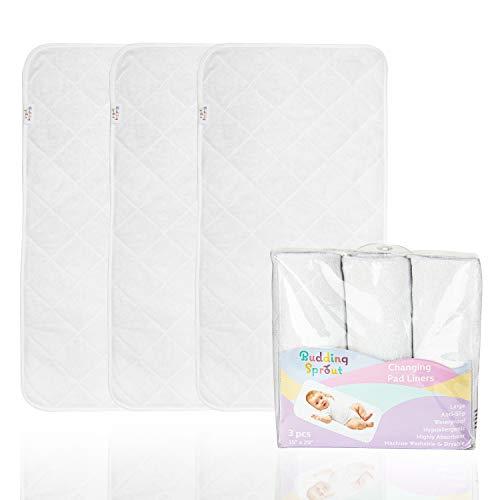 Cubiertas para cambiadores acolchadas altamente absorbentes