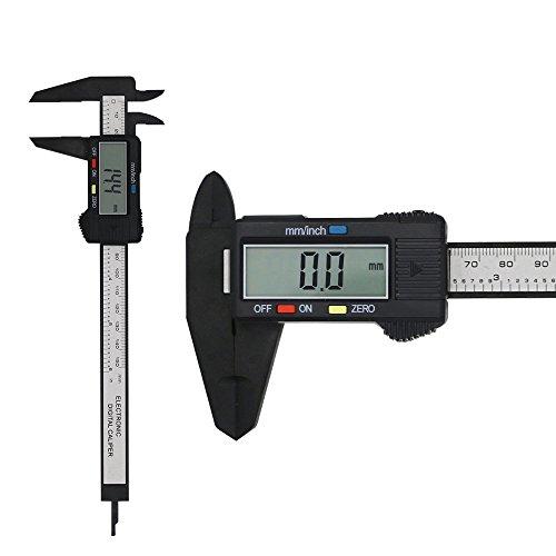 Peetoko デジタルノギス 外径/内径/段差/深さ測定 LCDディスプレイ 高精度