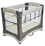 Arm's Reach Concepts Ideal Ezee 3-in-1 Bedside Bassinet - Dandelion