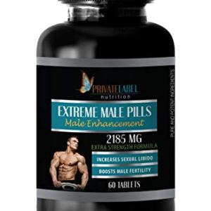 libido Herbal Supplement - Extreme Male Pills 2185 Mg - Extra Strength Formula - tribulus terrestris Extract - 1 Bottle 60 Tablets 15 - My Weight Loss Today
