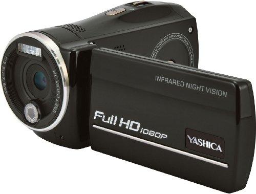 YASHICA ナイトビジョン搭載 フルハイビジョンカムコーダー ADV-518HD