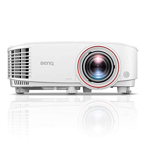 BenQ TH671ST 1080p Short Throw Gaming Projector | Gaming Mode for Intense Low Input Lag Action |...