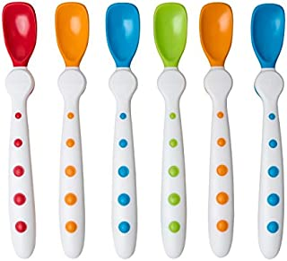 First Essentials by NUK Rest Easy Spoons, 6 Pack, 6+ Months