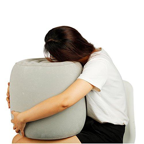 Blue Castle ブルーカステルー抱き枕 軽量 コンパクト 旅行用 飛行機の中でうつぶせ寝をしたい人に M、L...