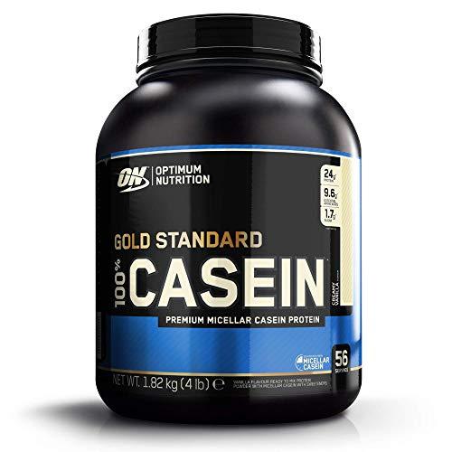 Optimum Nutrition 100% Gold Standard Casein, Proteine in Polvere di Caseina Micellare a Lento Rilascio con Glutammina e Aminoacidi, Crema alla Vaniglia, 1.82 kg, 53 Porzioni