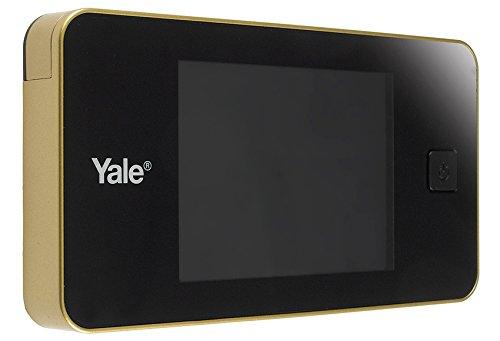 Yale 45-0500-1432-00-02-01 Spioncino Elettronico Con Display Digitale (Oro)