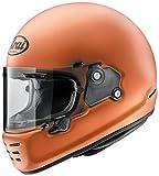 アライ (ARAI) フルフェイスヘルメット ラパイドネオ RAPIDE NEO ソリッドモデル ダスクオレンジ 55-56cm RN-DUOR-55